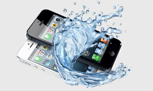 what to do when iphone drop in water